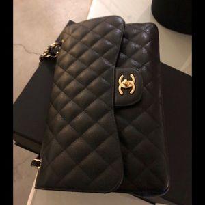 9dfa3fdbc1bd Women's Jumbo Chanel Flap Bag Price on Poshmark